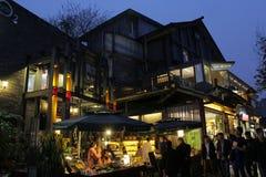 Kuanzhai aleja w Chengdu mieście, Chiny zdjęcie royalty free
