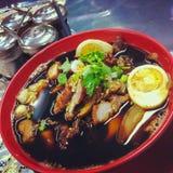Kuay-jap nam khon Lizenzfreies Stockbild