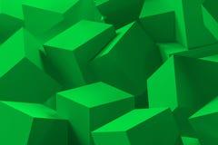 kub för bakgrund 3d Arkivfoto