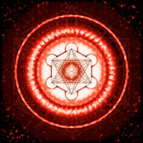 Kub för Metatron ` s Arkivbild