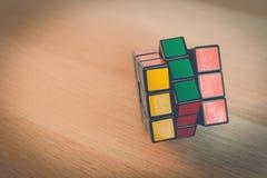 Kub för Rubik ` s Arkivbild