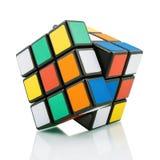 Kub för Rubik ` s Arkivfoto