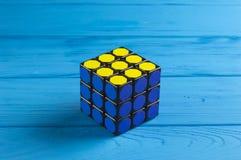 Kub för Rubik ` s Royaltyfria Bilder