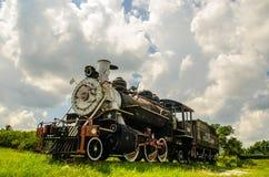 Kubańczyk linie kolejowe i pociągi Zdjęcie Royalty Free