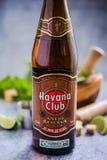 Kubańczyk Mojito z Hawańskim Świetlicowym rumem Obraz Stock