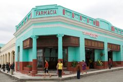 Kubańska apteka obraz stock