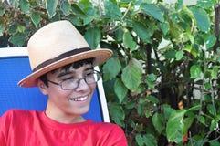Kubańska Chłodno chłopiec zdjęcia royalty free