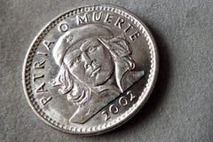 Kubańska pamiątki moneta Zdjęcia Royalty Free