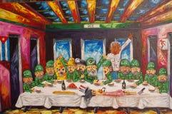 Kubański artysty przedstawicielstwo końcówka kapitalizm zdjęcie royalty free
