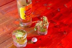 Kubański rum obrazy stock