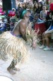 Kubański tancerz rusza się szalony Kubański rumba rytm zdjęcia royalty free