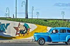 Kuba Havana rocznika samochód Obraz Stock