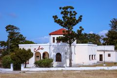 Kuba/havannacigarr - Augusti 2018: Che Gevara Residence Museum arkivfoto