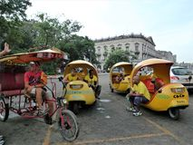 Kuba havannacigarrmittstad royaltyfria bilder