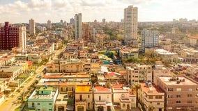 Kuba Hawański śródmieście fotografia stock