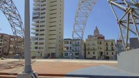 Kuba, Hawana, ruch w dystrykcie Habana Centro zbiory wideo
