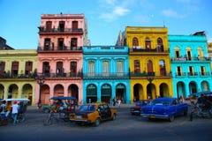 Kuba-Häuser Stockbild