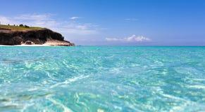 Kuba-Küstenansicht von Havana stockbild
