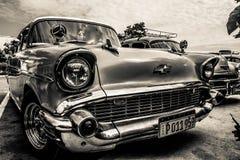 Kuba - klassiska Chevrolet Royaltyfri Fotografi