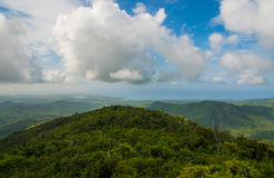 Kuba-Landschaft Lizenzfreies Stockfoto