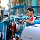 Kuba-Leute Stockfotografie