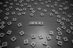 Kuba listy Obraz Royalty Free