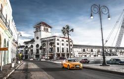 Kuba miasta Audi Hawańskich Starych samochodów Floryda Uliczny ruch drogowy obrazy royalty free