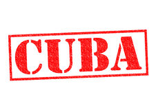 Kuba pieczątka Fotografia Stock