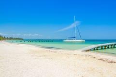 Kuba plaża Zdjęcie Royalty Free