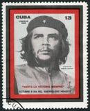 KUBA - 1968: pokazuje dowódcy Ernesto Guevara De Los angeles Serna Che Guevara 1928-1967, rewolucja lider fotografia stock
