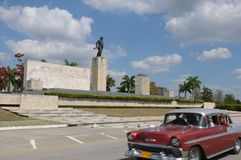 Kuba: pomnik w Santa Clara | Kuba: Che-Denkmal w Santa zdjęcia stock