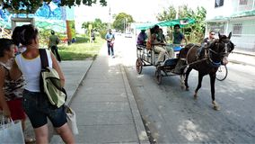 Kuba, Santa Clara obraz stock