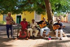 Kubańscy uliczni gracze Fotografia Stock