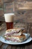 Kubańska kanapka Zdjęcia Stock