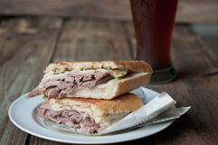 Kubańska kanapka Obraz Royalty Free