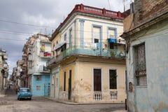 Kubańska ulica Zdjęcia Royalty Free