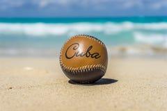 Kubański baseball Zdjęcia Royalty Free