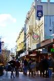 Kuba-Straße in Wellington New Zealand Lizenzfreie Stockfotos