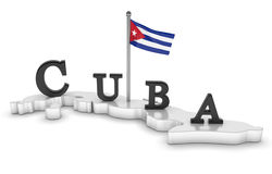 Kuba-Tribut Lizenzfreies Stockbild