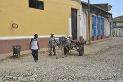 KUBA TRIINDAD Zdjęcia Royalty Free