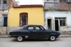 Kuba, Trinidad, Oldtimer Obraz Royalty Free