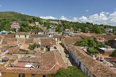 KUBA TRINIDAD widok OD DZWONKOWY wierza Obraz Royalty Free