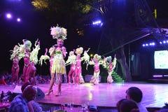 KUBA TROPICANA klubu nocnego przedstawienie zdjęcie royalty free
