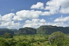 KUBA Valle de Viñales i Piñar del Rio de Janeiro Arkivbild