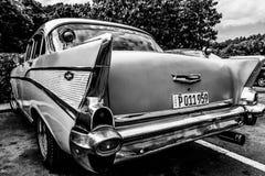 KubaCayo jultomten Maria Chevrolet Royaltyfria Bilder