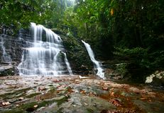 Kubah Waterfall Royalty Free Stock Photography