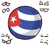Kubalandsboll arkivbild