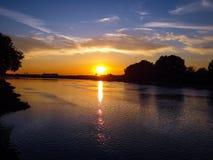 kuban ποταμός Στοκ φωτογραφία με δικαίωμα ελεύθερης χρήσης