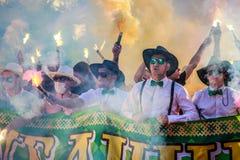 Kuban Krasnodar ultras Στοκ φωτογραφία με δικαίωμα ελεύθερης χρήσης