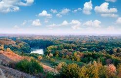 Kuban-Landschaft stockfotos